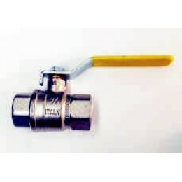GAS BALL VALVES, FEMALE/FEMALE, (6mm), WITH LEVER HANDLE