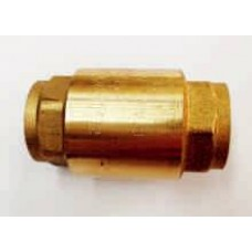SPRING CHECK VALVES, BRASS, EUROPA BRAND, FEMALE/FEMALE, BSP THREADS, MADE IN ITALY (8)