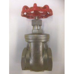 "STAINLESS STEEL GATE VALVES, GRADE SS316, FEMALE/FEMALE, BSPT, SIZE 2"", 50mm"
