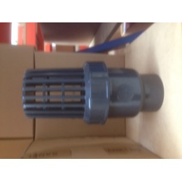 UPVC FOOT VALVE, 1 1/4 INCH, BSP FEMALE THREAD