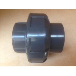 UPVC UNION, 1 1/4 INCH, ANSI SOCKET ENDS