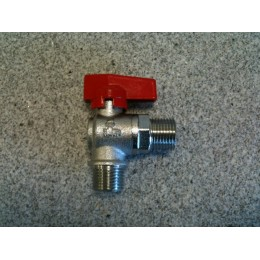 "UTILITY TAP, MALE/MALE, 1/2"" X 1/2"", RED"